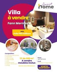 Vente Villa 8 pièces - Fann
