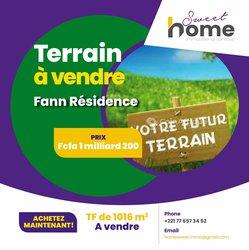 Vente Terrain 1016 m² - Fann