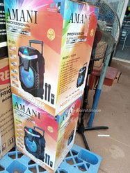 Karaoké speaker 2 micros - 1 commande