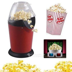 Sokany pop corn machine -1200 w - rouge