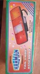 Feux rouges - phare arrière camion