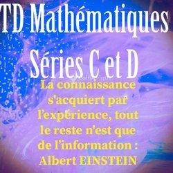 Travaux dirigés en mathématiques Tle