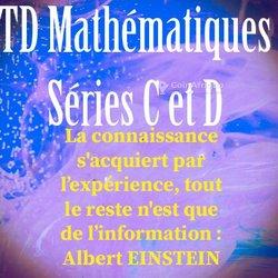 Travaux dirigés mathématiques Tle A - B - C - D