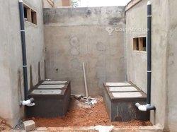 Construction de fosse biofil