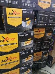 Batteries Gel Max Power 200 ah