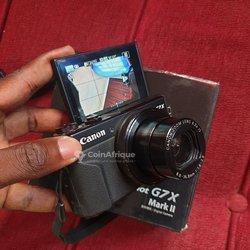 Canon G7X Mark II 20 MPX