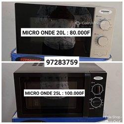 Micro-ondes / four électrique