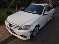 Location Mercedes C300 blanche