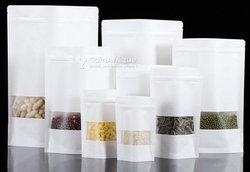 Emballage doypack - aluminium - papier kraft