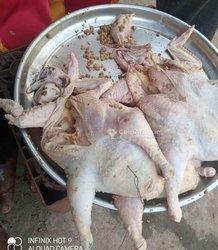 Poulet farci - poulet sans os