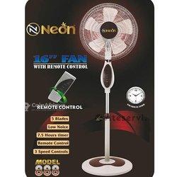 Ventilateur Néon à télécommande
