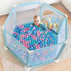 Parc à balle pour bébé et enfant + 50 boules