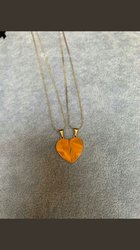 Chaîne en coeur