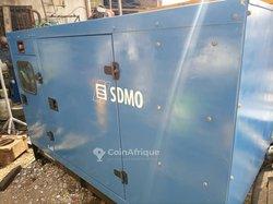 Groupe électrogène SDMO 66kva