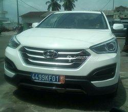Location Hyundai Santa fe 2013