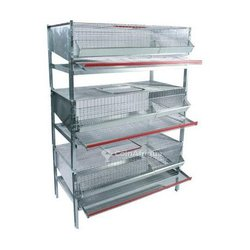 Batterie cage caille