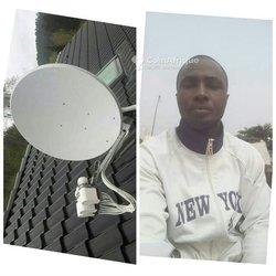 Technicien montage caméra - Wi-Fi - antennes-relais - parabolique
