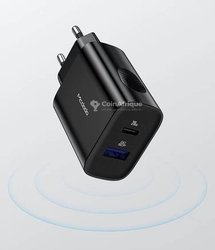Chargeur dual port