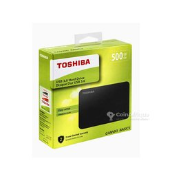 Disque dur portable externe Toshiba - 500 Go