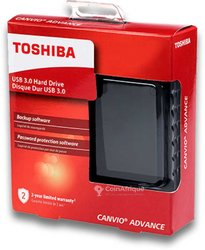 Disque dur externe Toshiba Canvio Advance 1to