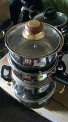 Jeux de 4 marmites assiettes