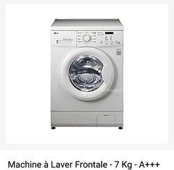 Machine à laver LG - 7 kg