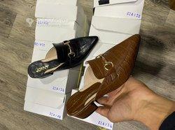 Chaussures mules plates et à talons