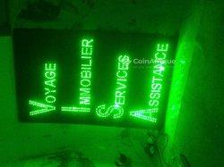 Création panneaux affichage LED