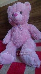 Peluche beautiful teddy pink