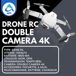 Drone RC double caméra
