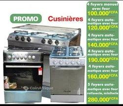 Cuisinières manuelles et automatiques