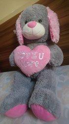 Peluche love you more