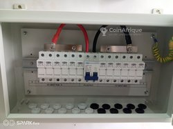 Combiner box  for pv - 8 holes