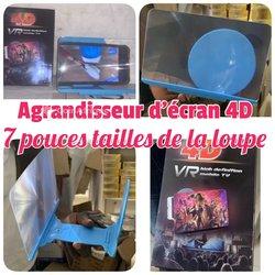 """Agrandisseur 4d d'écran  - 7"""""""