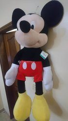 Peluche mickey mouse géant