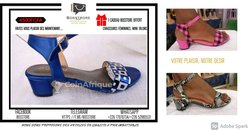 Chaussures mini talon femme