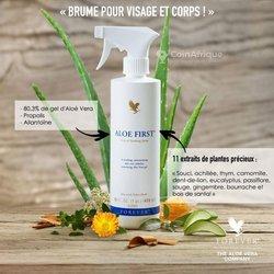 Produit cosmétique Aloe First