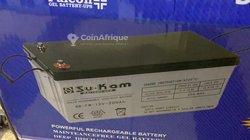 Batterie solaire 12V-200mah