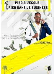 """Livre: """" un pied à l'école, un pied dans le business"""" pdf"""