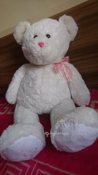 Peluche ours blanche