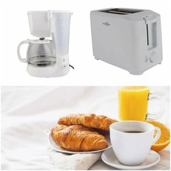 Pack cafetière filtre + grille-pain high one