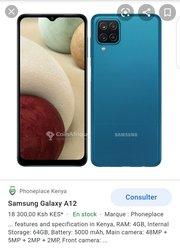 Samsung A12 et A31