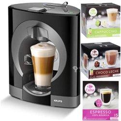 Machine à café à capsules Krups nescafé Dolce Gusto  + 3 boites de capsules