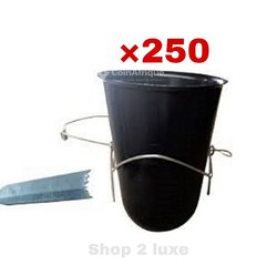 Tasse pour hévéa × 250