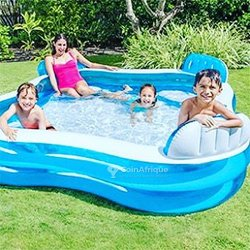 Intex piscine gonflable - 4 sièges