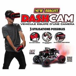 New Bright -  RC Dashcam - Véhicule à réalité virtuelle 3D avec caméra et wifi