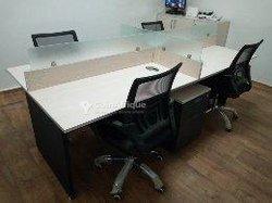Bureau open espace 4 places