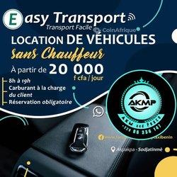 Location voiture avec ou sans chauffeur