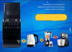 Cuisinière à four Kryster - mixeur - batteuse électrique - bouilloire électrique