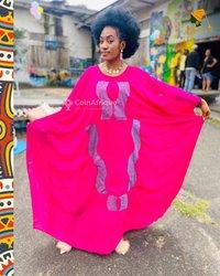 Boubou africain femme